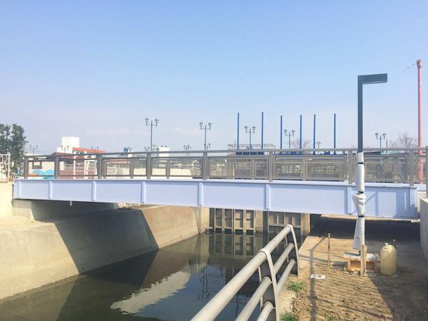 碧南市塩浜公園人道橋(桁カバー)