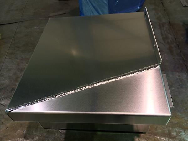 AL-2.0mm 溶接加工