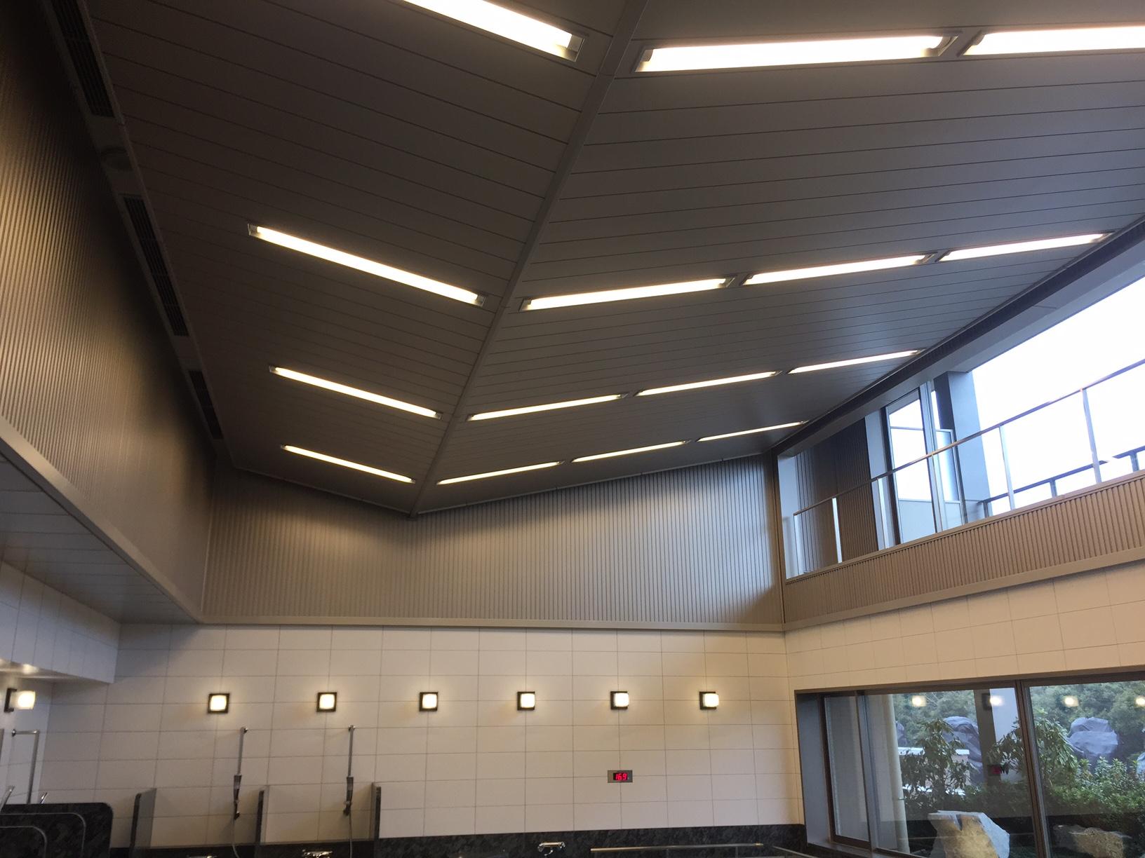 サンシティー立川昭和記念公園 天井照明パネル(4方) 天井・壁パネル・結露受け