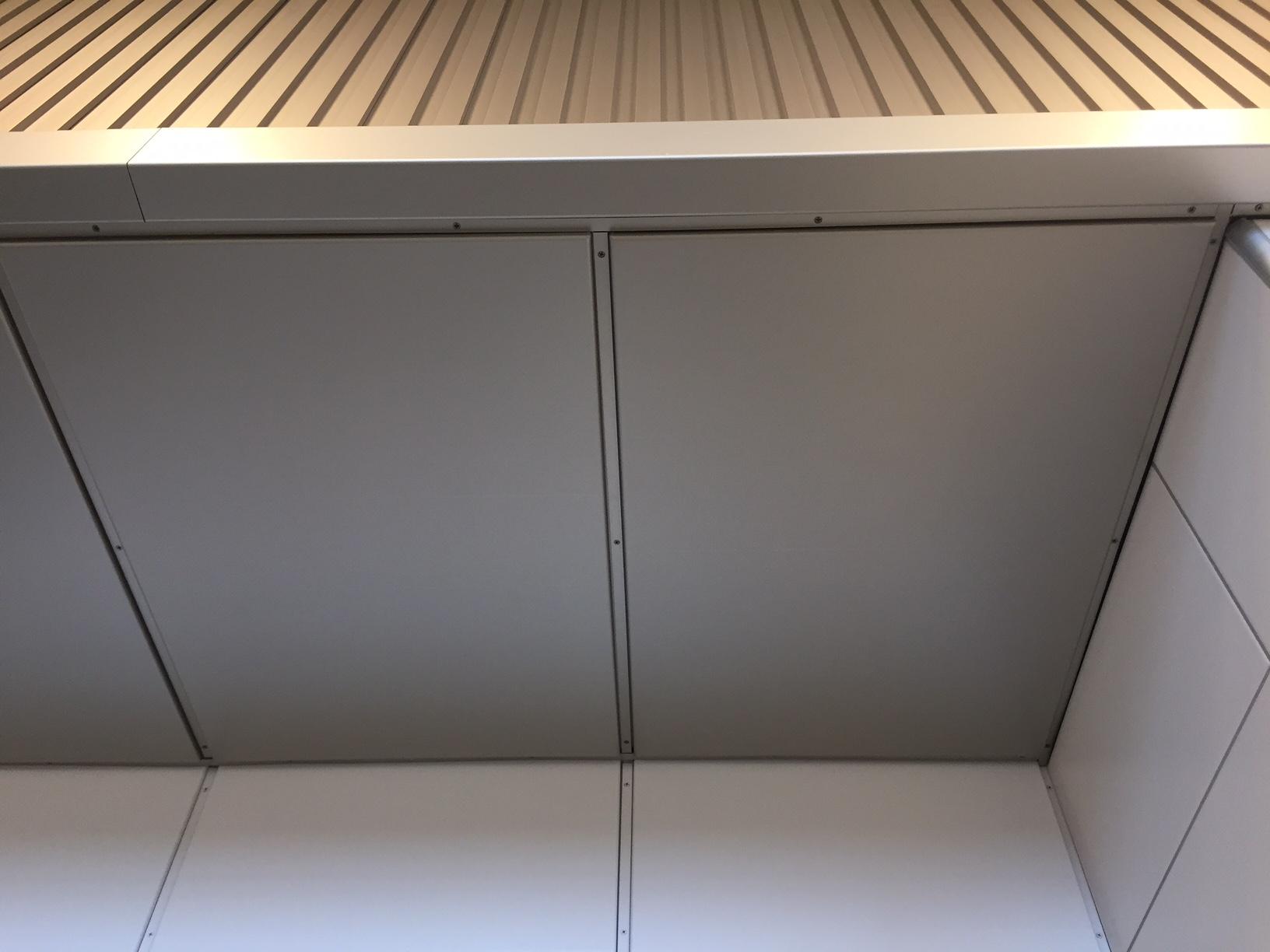 サンシティー立川昭和記念公園 天井照明パネル(4方) 天井・壁パネル・結露受け5