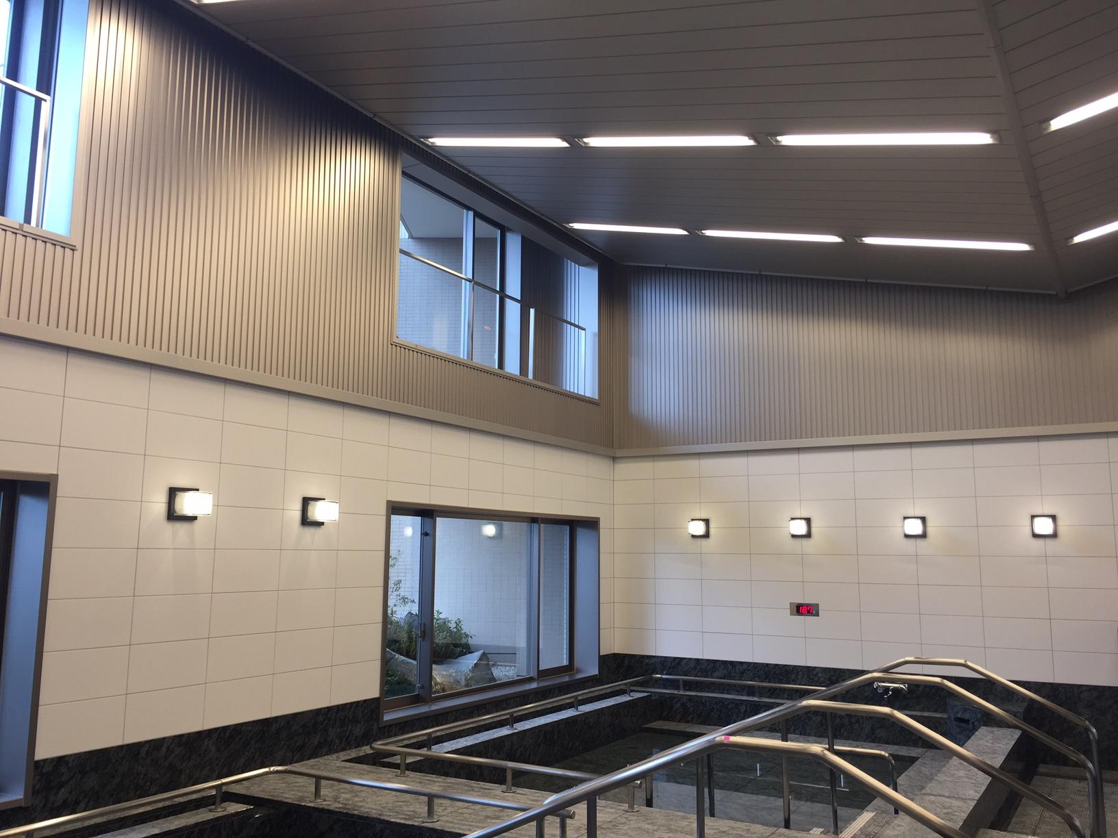 サンシティー立川昭和記念公園 天井照明パネル(4方) 天井・壁パネル・結露受け7