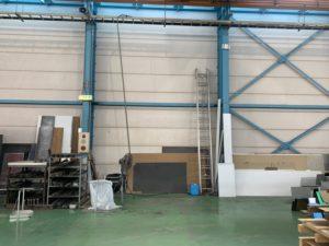 工場の一角