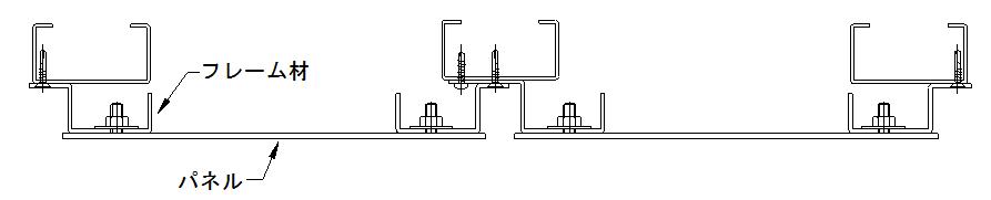 カットパネルの基本図