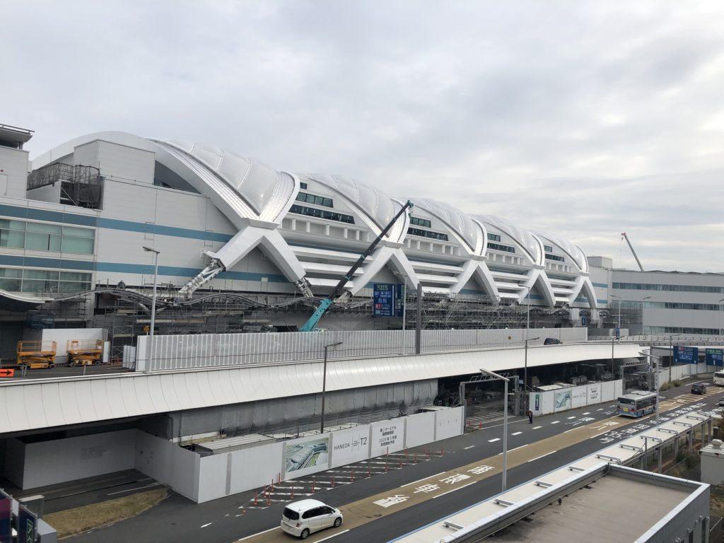 東京国際空港第2ターミナルビル 外壁パネル 3D設計